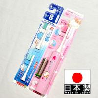 粉色 Hello Kitty 電動牙刷 附2個刷頭配件包 日本製 正版商品 超極細毛 大人小朋友都適用