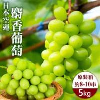 【WANG 蔬果】日本長野縣溫室麝香葡萄(原裝8-10串/約5kg)