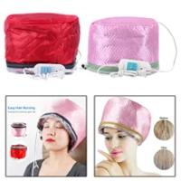 Electric SPA Thermal Treatmentความร้อนหมวกผมหมวกอบไอน้ำบำรุงผมไฟฟ้าผมความร้อนหมวก