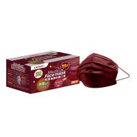 萊潔 醫療防護成人口罩-夜櫻紅(50入/盒裝)(衛生用品,恕不退貨,無法接受者勿下單)
