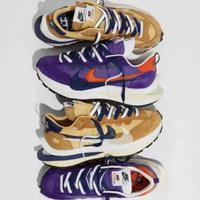 正品 Sacai X Nike VaporWaffle 卡其 紫 奶茶 DD1875-200 免運