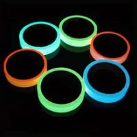 Reflective Glow Tape Self-Adhesive Sticker Removable Luminous Tape Fluorescent Glowing Dark Striking Warning Tape Fast Ship L*5