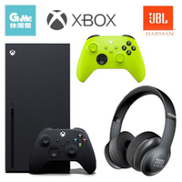 Xbox Series X 主機 + JBL Everest 300耳機+無線控制器(電擊黃)【現貨】【GAME休閒館】