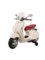 【公司指寄免運】義大利 Vespa 偉士牌 電動玩具車(白)