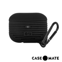 【CASE-MATE】AirPods Pro 軍規防摔防水保護套(黑色-贈掛環)