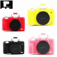 Soft Silicone Armor Protective Skin Case Body Cover for Canon EOS M50 Mark II M50II Digital Camera