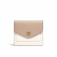 刷卡滿3千回饋5%點數|COACH WYN 小號拼色錢包女士零錢包卡包皮夾 C2916
