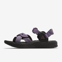 【NIKE 耐吉】休閒涼鞋 ACG AIR DESCHUTZ + 男鞋 紫(DC9092500)