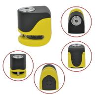 kovix KS6 黃色 送原廠收納袋+提醒繩 偉士牌機車 VESPA 可用 德國鎖心警報碟煞鎖