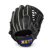 Zett [BA2174] 棒壘手套 壘球 棒球 守備 牛皮 內野 外野 12吋 黑色