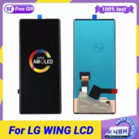 """Original Super AMOLED For LG Wing 5G LCD Display Touch Screen Digitizer Assembly Replacement for LG WING LCD Sreen 6.80"""""""