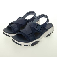 【SKECHERS】女 休閒系列涼拖鞋 DADDY-O(163051NVY)