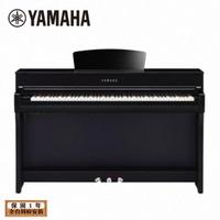 【YAMAHA 山葉】CLP-735 PE 數位電鋼琴 88鍵 鋼琴烤漆曜岩黑色款(台灣公司貨 商品保固有保障)