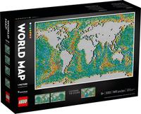 LEGO 樂高 藝術 世界地圖 31203