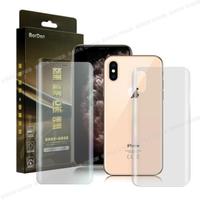 【BorDen】iPhone Xs / X霧面滿版自動修復極緻螢幕保護貼-前後膜