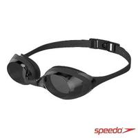 【SPEEDO】成人運動泳鏡 Cyclone 3(黑/灰)