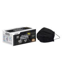 萊潔 醫療防護成人口罩-牛仔隕石黑(50片入/盒)