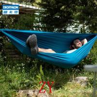 【戶外吊床】免運!迪卡儂吊床戶外鞦韆大人雙人吊椅室內家用野外室外防側翻吊繩ODCT