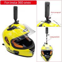 Insta360 One R X 頭盔架配件自行車摩托車極限運動支架頭盔安裝, 用於 Gopro Insta360 On