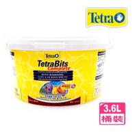 【TETRA 德彩】T262-1七彩熱帶魚BITS顆粒飼料3.6L緩沉性顆粒(七彩短鯛中小型魚營養均衡增豔極品)