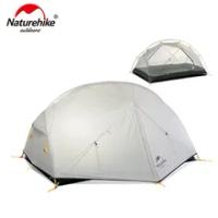 Naturehike Mongar 2คน Camping เต็นท์20D ไนลอนผ้า Double Layer กันน้ำกลางแจ้ง Camping เต็นท์ NH17T007-M