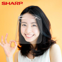 【SHARP 夏普】奈米蛾眼科技防護面罩 12入