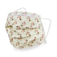 【GRANDE 格安德】拋棄式一般醫用平面口罩 碎米花(醫療口罩)
