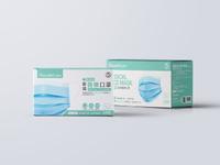 雙鋼印 鉅瑋醫療口罩(未滅菌),50片/盒,成人口罩,通過重金屬及偶氮色料檢驗
