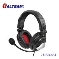 【ALTEAM我聽】USB-584K 六耳獼猴高階款耳罩式電競耳麥