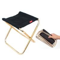 CLS戶外超輕便攜式折疊椅 凳 折疊椅 露營椅 釣魚椅 登山折疊凳 7075鋁合金摺疊椅 收納小巧好攜帶 【附收納袋】