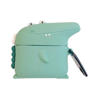 【TOYSELECT 拓伊生活】呆獸小鱷魚AirPods Pro保護套