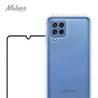 【Meteor】SAMSUNG Galaxy M32 手機保護超值2件組-活動品(透明空壓殼+鋼化膜)