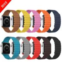 สำหรับ Apple Watch 5 4 3 6 38มม.42มม.เข็มขัดสร้อยข้อมือ IWatch Series 6 5 4 3 SE Correa Apple Watch Band 44มม.40มม.