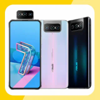 【ASUS 華碩】ZenFone 7 5G 6.67吋翻轉三鏡頭智慧型手機(8G/128G/ZS670KS)
