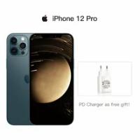 """Original iPhone 12 Pro/ iPhone 12 Pro Max 5G สมาร์ทโฟน6.1 ''/6.7"""" XDR จอแสดงผล a14ชิป12MP Triple กล้องโทรศัพท์มือถือ"""