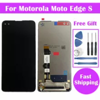 100% Test For Motorola Edge S LCD Display Touch Screen Digitizer Assembly For Motorola Moto Edge S Diplay