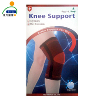 醫材字號【Fe Li 飛力醫療】HA系列 專業雙色軟鉄護膝(H22)