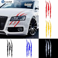 Auto Car Sticker Reflective Monster Claw Scratch Stripe Marks Headlight Decal Car Stickers 40cmX12cm car accessories