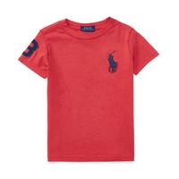 美國宅急配【Ralph Lauren】T恤 RL 短袖 T-shirt Polo 大馬 深藍馬 素面 白色 青年 XXS XS S E102