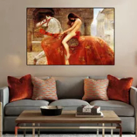 Lady Godiva on Horseback Canvas Oil Painting Poster Print Modern Home Wall Decor Art Picture Nordic Living Room Home Decoration