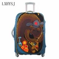 LXHYSJ ความยืดหยุ่นกระเป๋าเดินทางกระเป๋าเดินทางป้องกันครอบคลุม For18-30นิ้วสัมภาระกระเป๋าเดินทาง...