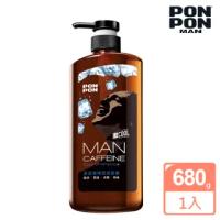 【澎澎MAN】咖啡因勁涼洗髮露-650g+30g