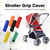 Neoprene กระเป๋าเดินทาง Handle Wrap Grip นุ่ม Identifier รถเข็นเด็กสำหรับกระเป๋าเดินทางกระเป๋าเดินทาง