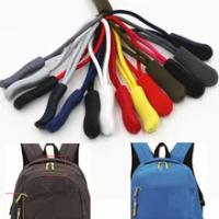 10PCซิปดึงPULLER End Fitเชือก: FixerสายซิปTABเปลี่ยนคลิปหัวเข็มขัดกระเป๋าเดินทางCAMPINGกระเป๋าเป้สะพายหลัง