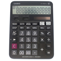CASIO 卡西歐 DJ-120D Plus 12位數 計算機/一台入(促850) 300步檢查 步驟記憶功能 利潤率