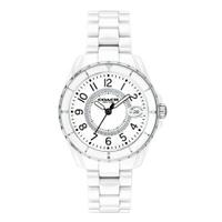 刷卡滿3千回饋5%點數 COACH Preston系列陶瓷腕錶/白14503462
