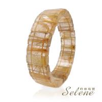 【Selene】璀璨晶透滿絲鈦晶手排(70g以上)