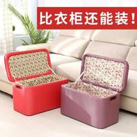 實木長方形沙發換鞋凳床尾儲物箱服裝店人可坐收納椅家用櫃凳子