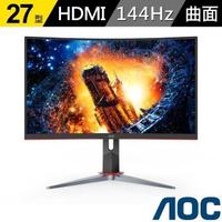 【AOC】27型CQ27G2 曲面2K電競顯示器