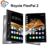 Original Royole FlexPai 2โทรศัพท์มือถือพับ7.8นิ้ว8GB RAM 256GB ROM Snapdragon 865 Octa-Core waterOS 2.0สมาร์ทโฟน